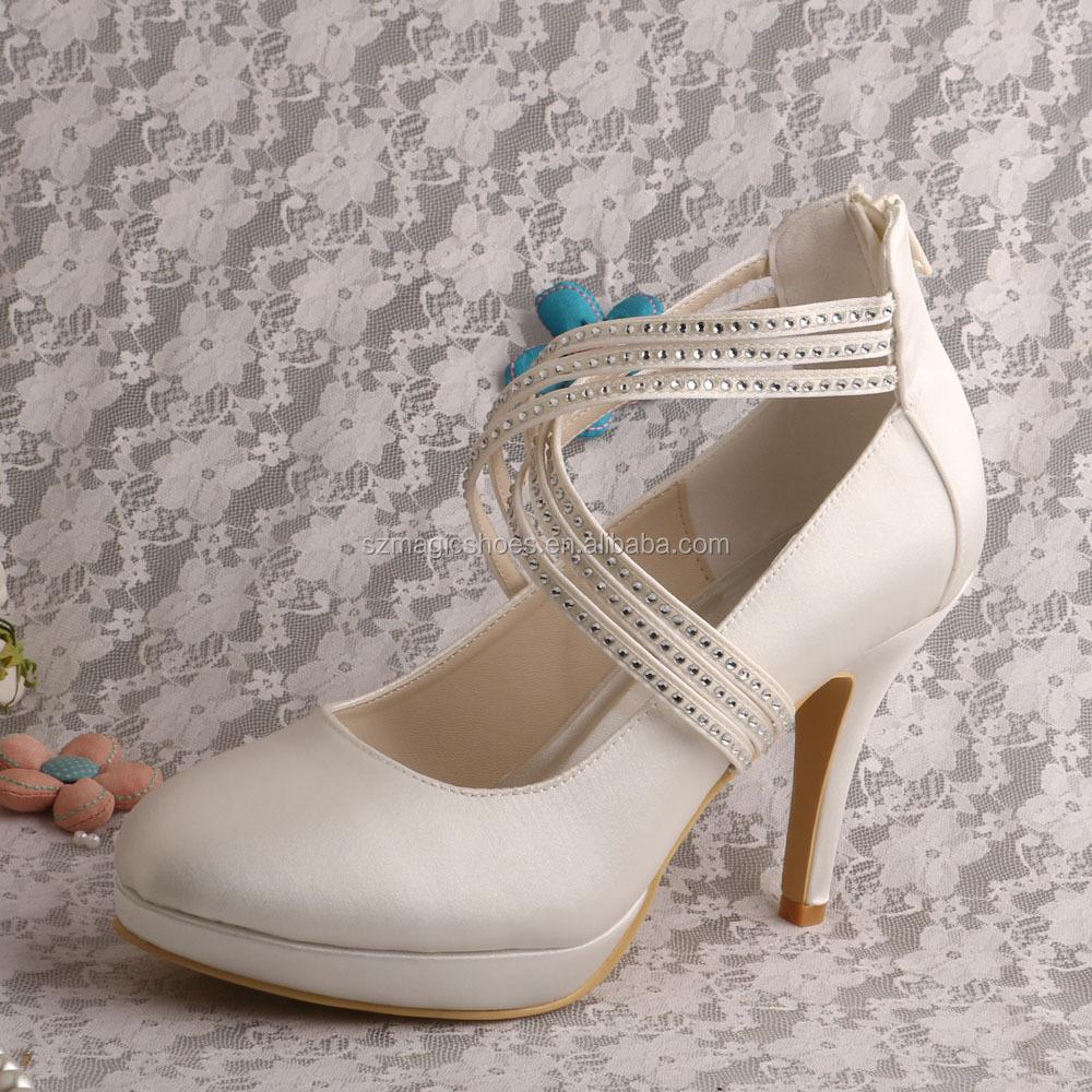 bbe483ad Venta al por mayor boda zapatos novia-Compre online los mejores boda ...