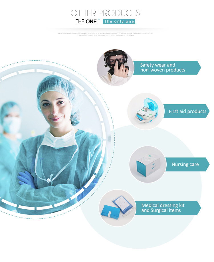 The One Customized Disposable Nonwoven PP Hospital Medical Surgical Doctor Bouffant Cap Hat