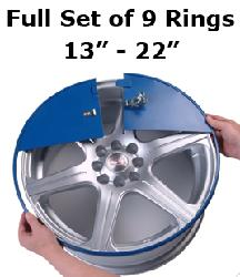 "Alloy Wheel Protection Rings (Full Set) 15""-20"""