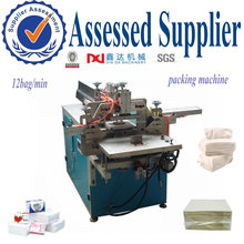 automatic napkin tissue paper packing forming machine