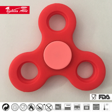 New Products Luminous Silicone Hand Spinner Cool Toys For Adult