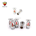 Popup Type Glass Bulb ZST Pendent Fire Sprinkler for Hotel