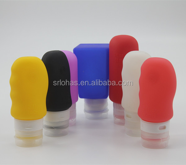 LH-093 Hot Selling Outdoor FDA Squeeze Silicone Bottle Band For Travel