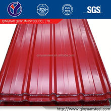 factory price prepainted galvanized steel tile, steel roofing sheet sizes from china manufacture