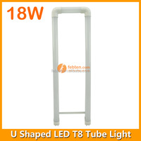 2ft U T8 LED Tube with internal power supply