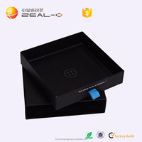 top quality rantional design quality and quantity ensured jewelry sliding paper box with ribbon handle
