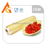 Plastic PVC stretch film/PVC cling film for food packing