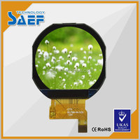 round lcd display of 1.22 '' small digital display screen IPS ,240*204 lcd