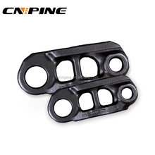Track Chain Link Section for Excavator and Bulldozer Track Conveyor Rails in Undercarriage Spare Part