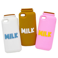 Macdonal Funny Silicone Soft Cover Skin for iPhone 4 4G 4S Case