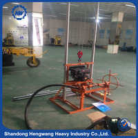 2016 Strong Power Low Price cheap Portable Hydraulic Water Well Drilling Rig