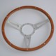 China 16'' Classic Riveted wooden steering wheel Restoration Custom for Volkswagen VW Beetle