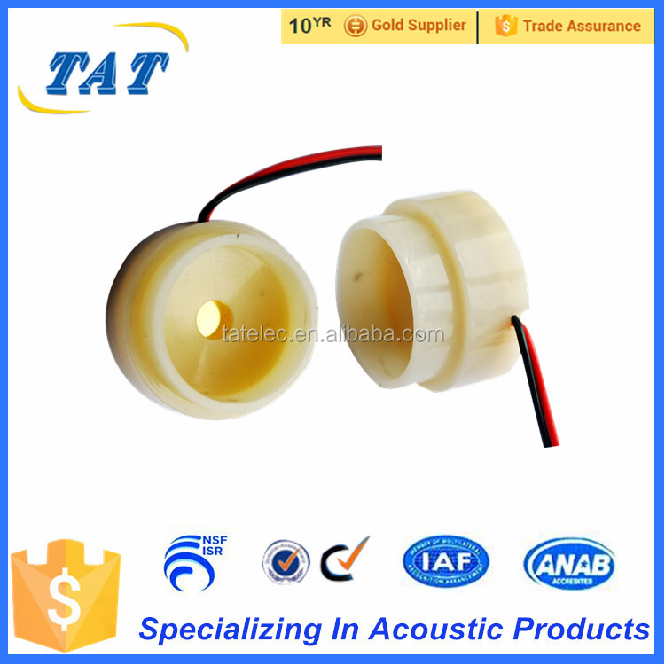 High sound 12v electronic piezo siren