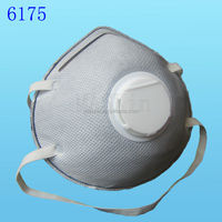 Medical-grade filter mask with carbon and breathing valve