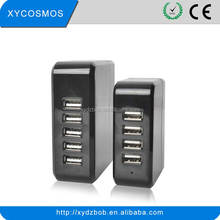 High quality 5 port usb charger ,5v 2.4a charger, high quality 4 port usb wall charger