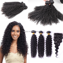 Free Shedding Free Tangle 100% unprocessed wholesale virgin brazilian jerry curl hair weave