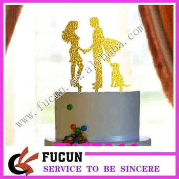 China factory wholesale Wedding Supplies Acrylic Cake Topper