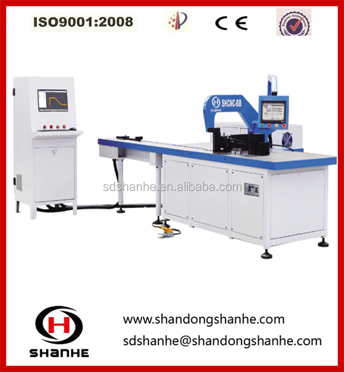 CNC busbar punching cutting bending machine