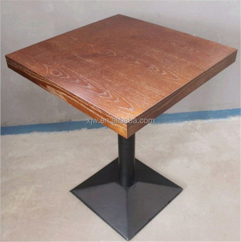 Top Quality Adjustable Height Restaurant Metal Coffee Iron Table - Adjustable table bases for restaurants