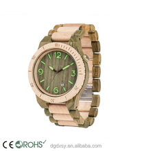 2 Tone Bracelet Custom Wood Watches Chinese Wholesale Wooden Watches 2015