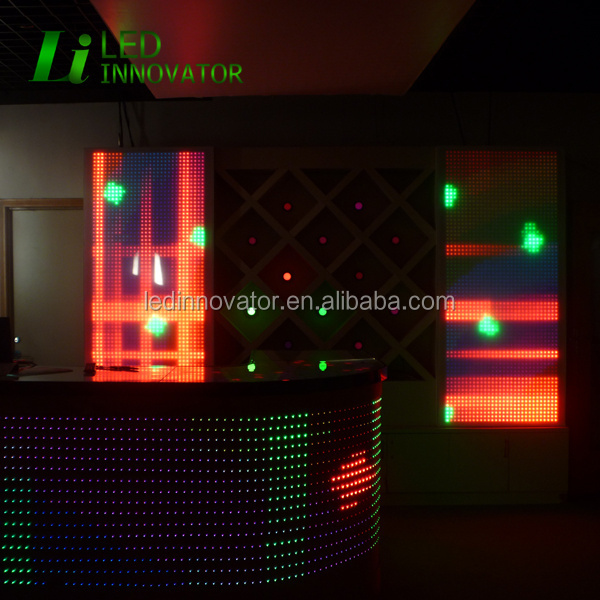 Artnet control dmx led decorative wall panel Madrix compatible