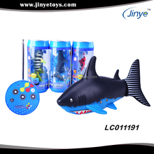 underwater remote control toy shark rc rocking fish toy
