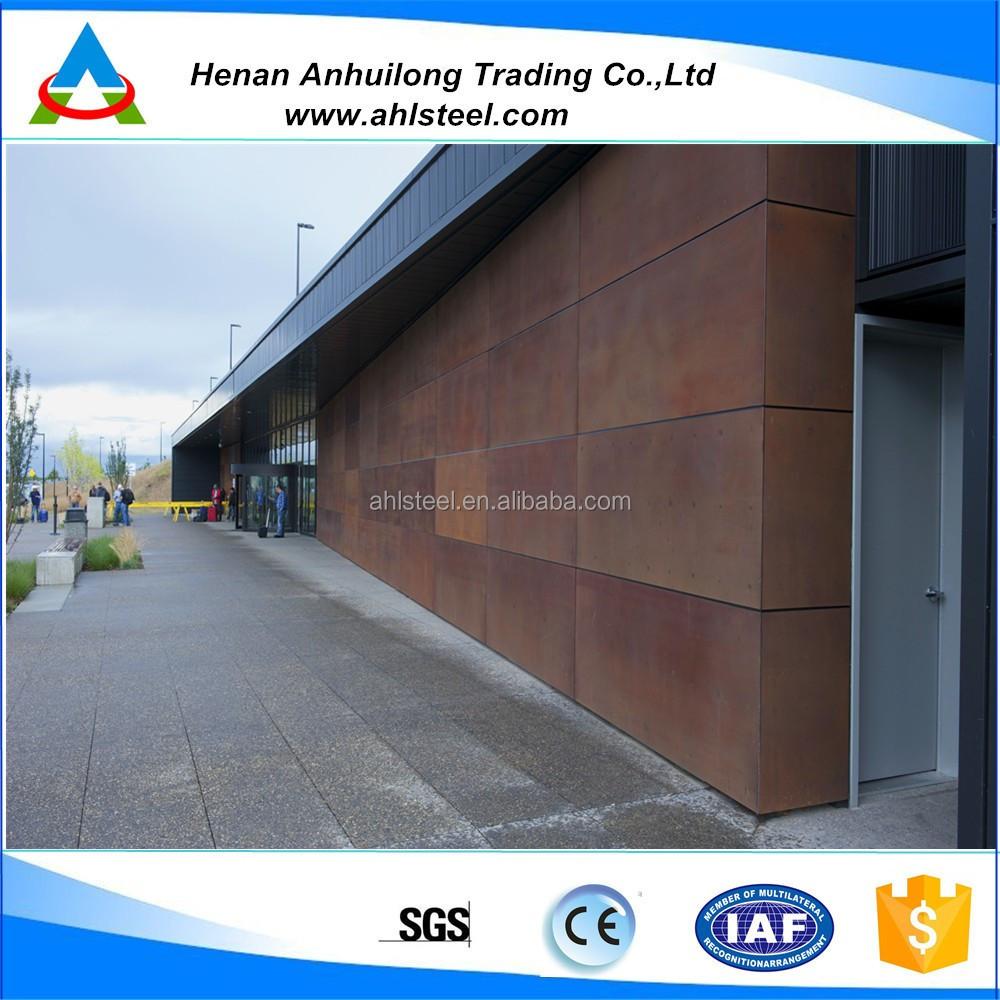 A242 fachadas acero corten hojas de acero identificaci n - Acero corten fachadas ...