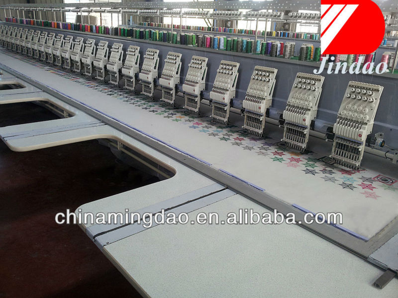 Dahao flat embroidery machine and Computerized Embroidery Machine