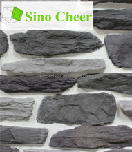 wall-facing material 2016 hot sale grey cultural stone