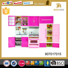 Free Shipping Pretend Games Toys Girl Kitchen Play Set