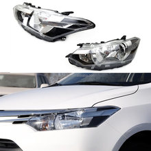 For Toyota Vios 2014-2016 Turn Signal Headlight High+Dipped Beam Lens