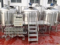 CE certificate 1000l stainless steel mash tun brew kettle for sale