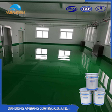 AB-DP-300M anti-slip wear-resisting self-levelling epoxy floor coating with resistance to oil and chemical resistance