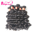 Free Sample Hair Bundles Brazilian Natural Wave Extension Human Hair