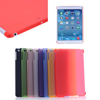 China supplier colorful matte PC case for ipad Air(can together with smart cover)