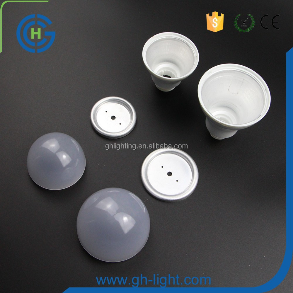 Hot A19/A60 lamp led bulb 3w 5w 7w 9w 10w 12w e27 led bulb lighting aluminum+plastic housing