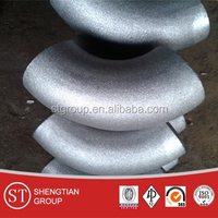 galvanized pipe fitting 90 degree sch 80 elbow