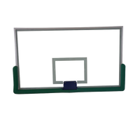 Glass basketball Stand backboard