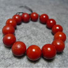 Alibaba golden supplier AAAAA quality round beads shape natural red coral loose gems price