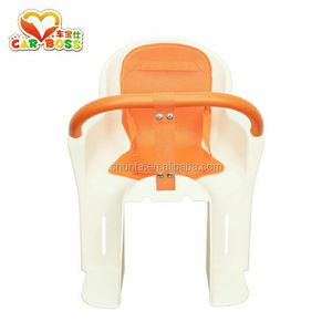 Plastic baby seat used on bicycle children seat with seat belts bicycle parts