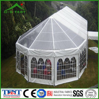 outdoor octagon gazebo event tent canopy