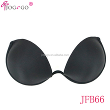 side wing one piece adhesive strapless nude silicone free bra new models