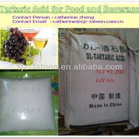 Tartaric Acid For Food And Beverage