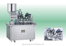 Cosmetic Tube Filling and Sealing Machinery