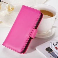 Fancy cell phone horizontal flip mobile phone leather case for Iphone 4/4S with candy love