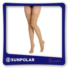 Taiwan Produced Best OEM/ODM Opaque/Sheer Thigh High Compression Stockings
