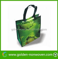 Non-woven promotional drawstring laundry bag