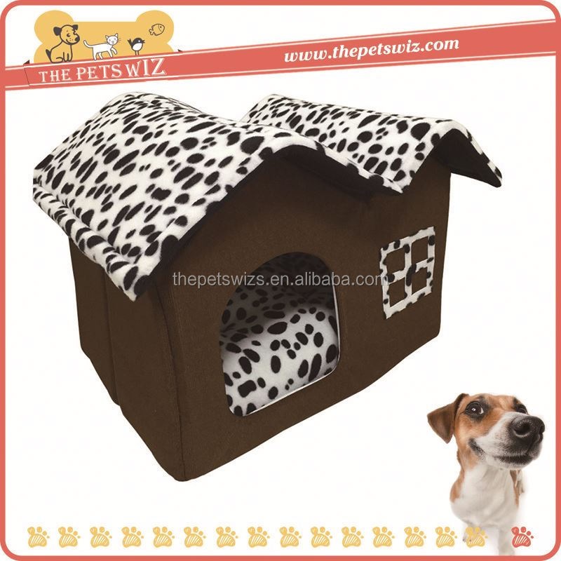 Dot cow fabric dog bed ,CC131 pet bads dog cat small animal plush pet bed , dry and bbreathable pet bed