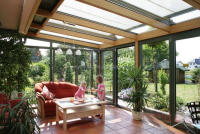 Energy-saving tempered Insulated Glass aluminum alloy Sunroom,glass house / sun room