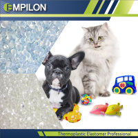 injection molding PET TOYS by TPR granules compounds recycling material